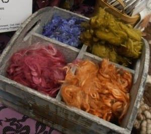Hand-Dyed Suri Locks
