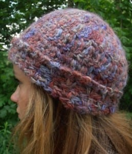 Alpaca Hat with Lopi Lite Yarn
