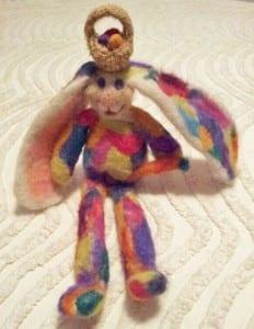Bunny Felting Class - Jill's Bunny