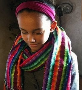 Guatemalan Handwoven Scarf