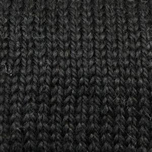 Snuggle Black Alpaca Blend Yarn