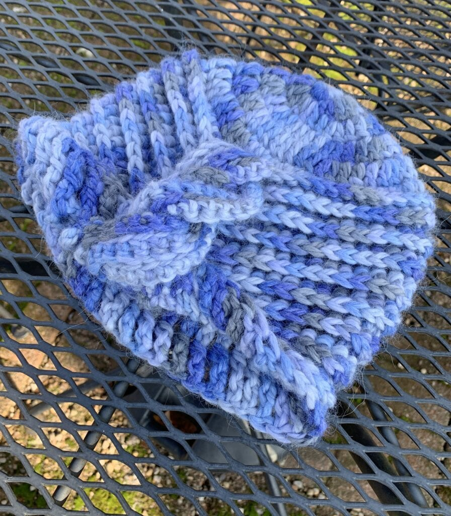Snuggle Ribbed Cable Cloche Hat Free Pattern